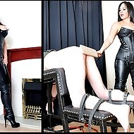 Only a fool would refuse Mistress R'eal anything, particularly when she is dressed head-to-toe in in black leather, which clings to her legendary