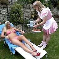 Big Trouble for a Little Sissy - Tranny Servitude and Caning